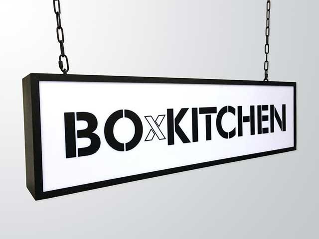 Lightbox-sign